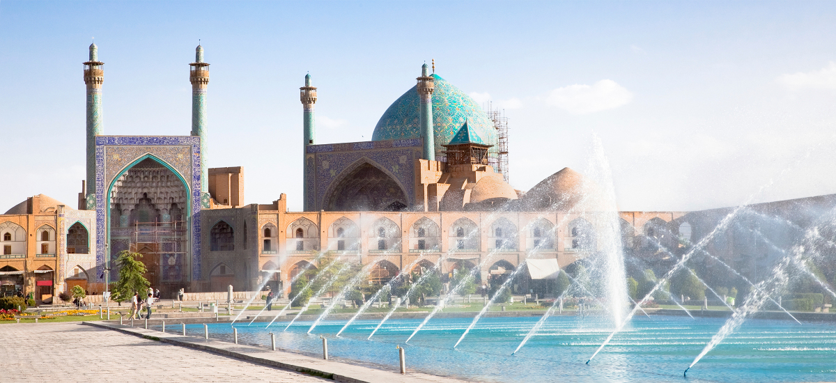 نقشه مناطق اصفهان